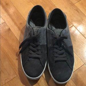 Mens Tods Sneakers Gray Color Block